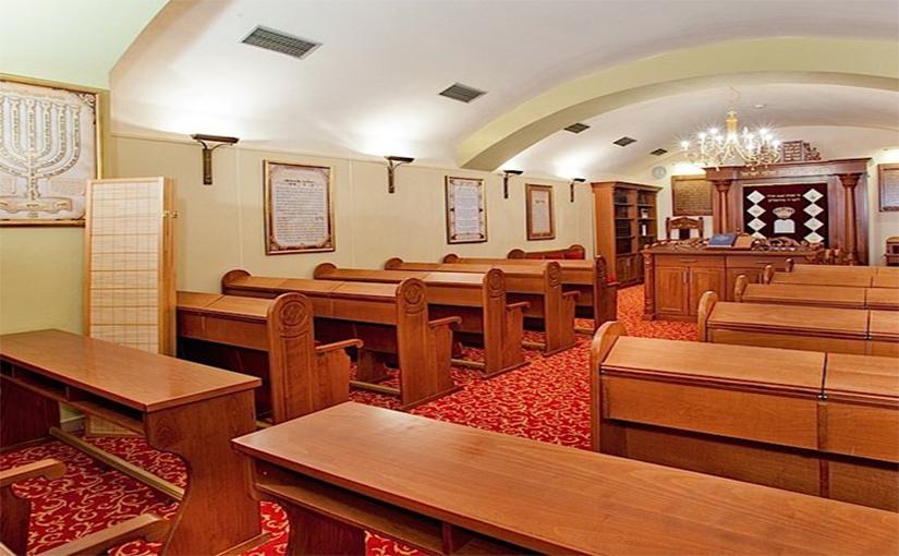 בית כנסת במלון הכשר בפראג