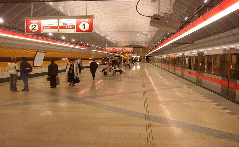 התחבורה הציבורית בפראג