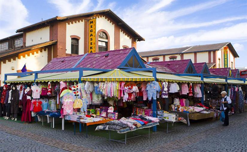 השוק הויטנאמי - קניות בפראג