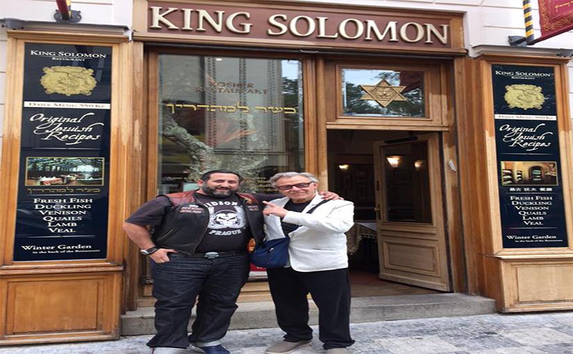 סלבס אוכלים כשר במסעדת קינג סולומון פראג
