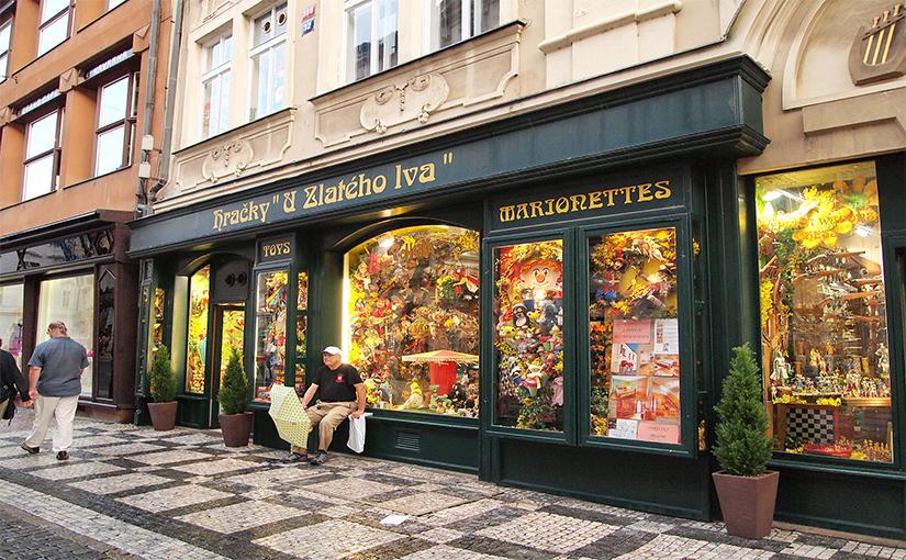 רחוב צלטנה קניות בפראג
