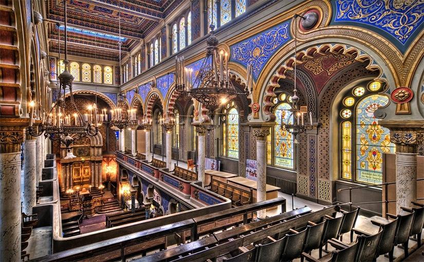 תפילות בבית הכנסת ירושלים בפראג